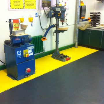 Interlocking Workshop Floor Tiles Paf Tektiles