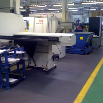 Tektile9 - workshop pvc floor tiles